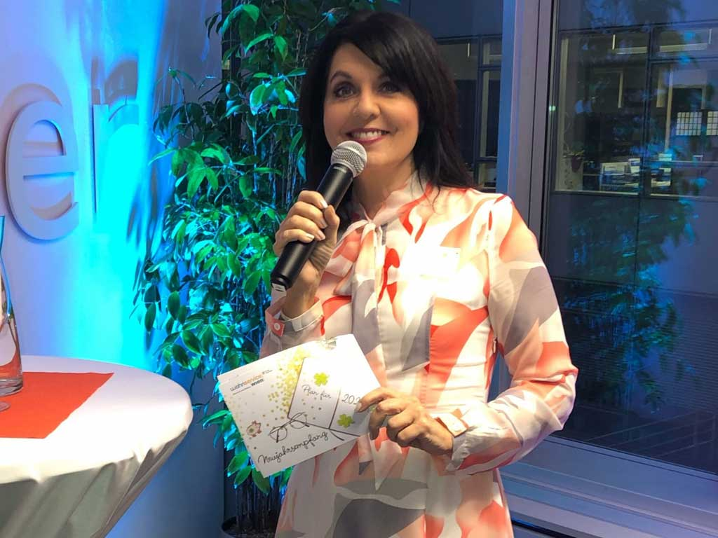 Neujahrsempfang mit Moderatorin Sylvia Reim