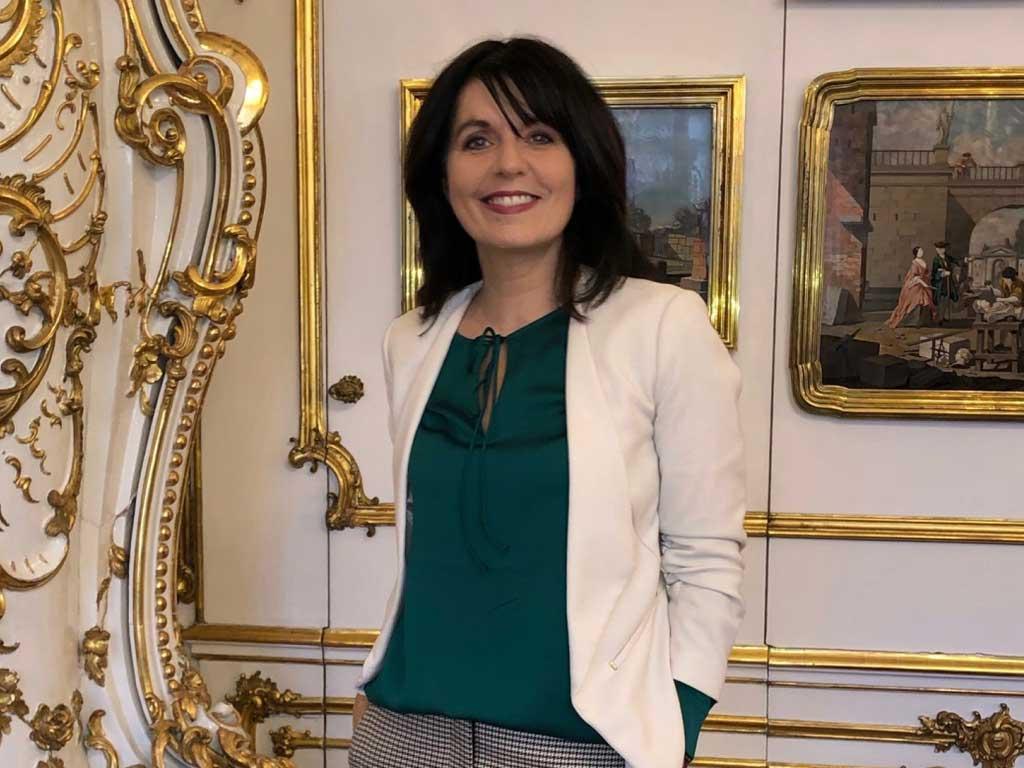 Präsident Van der Bellen Einladung mit Sylvia Reim