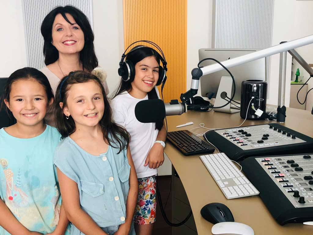 Radio Workshop mit Kindern mit Sylvia Reim
