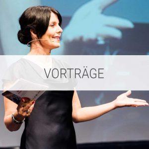 Vortrag von Moderatorin Sylvia Reim