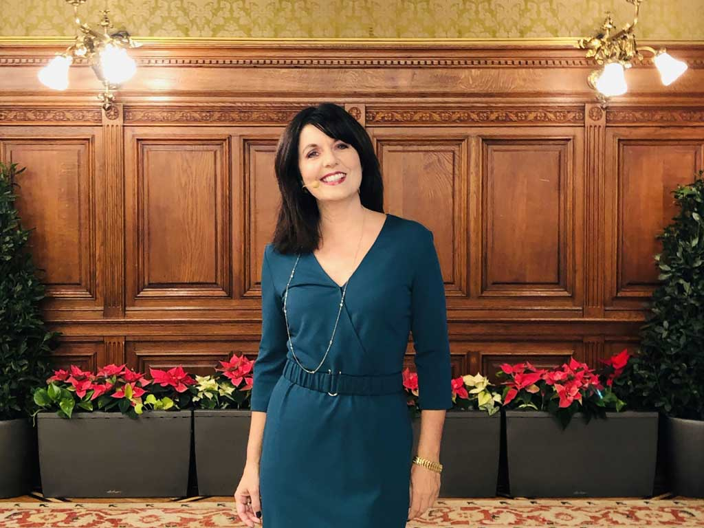 Ehrung im Wiener Rathaus mit Moderatorin Sylvia Reim